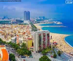 Układanka La Barceloneta, Barcelona