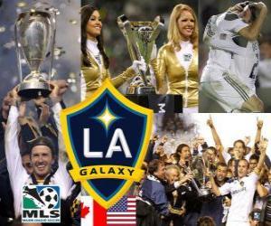Układanka LA Galaxy, 2011 MLS mistrzem