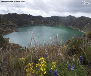 Układanka Laguna Quilotoa, Ekwador