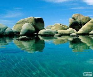 Układanka Lake Tahoe, Stany Zjednoczone Ameryki