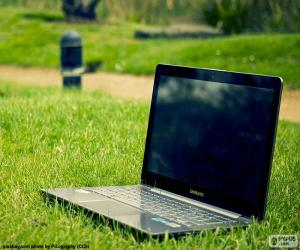 Układanka Laptop, Notebook