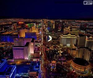 Układanka Las Vegas w nocy, Stany Zjednoczone
