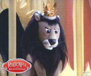 Układanka Latający lew, Król Moonracer