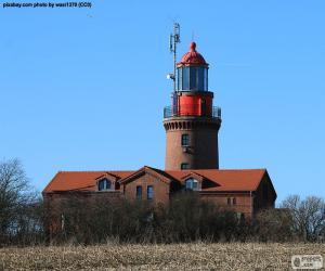 Układanka Latarnia morska Bastorf, Niemcy