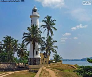 Układanka Latarnia morska Galle, Sri Lanka