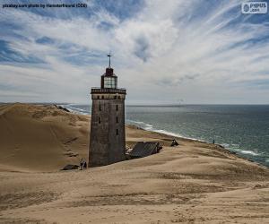 Układanka Latarnia morska Rubjerg Knude, Dania