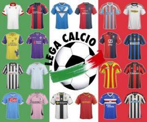 Układanka Lega Calcio Serie A