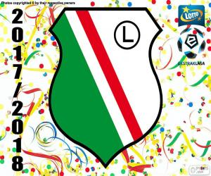 Układanka Legia Warszawa, Ekstraklasa 17-18