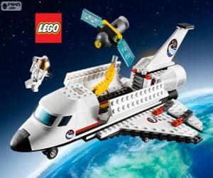 Układanka Lego City wahadłowiec kosmiczny