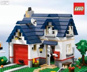 Układanka Lego Dom
