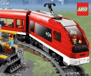 Układanka Lego pociąg