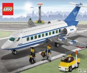 Układanka Lego samolot pasażerski