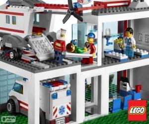 Układanka Lego Szpital