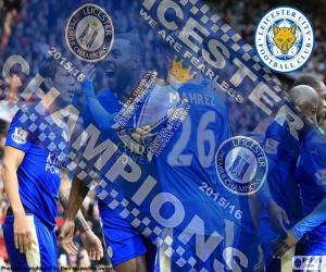 Układanka Leicester City, mistrz 2015-2016
