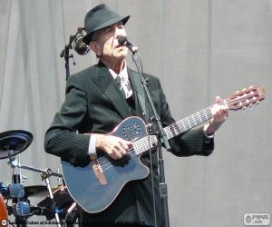 Układanka Leonard Cohen (1934-2016)