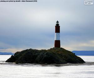 Układanka Les Eclaireurs latarnia morska, Argentyna