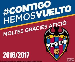 Układanka Levante UD 2016-2017
