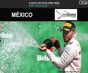Układanka Lewis Hamilton, 2016 Grand Prix Meksyku