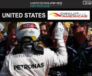 Układanka Lewis Hamilton, GP Stanów Zjednoczonych 2016
