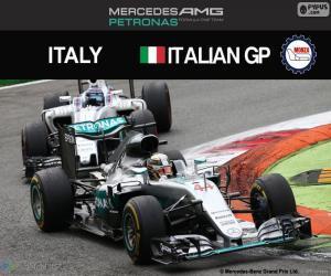 Układanka Lewis Hamilton, G.P Włochy 2016
