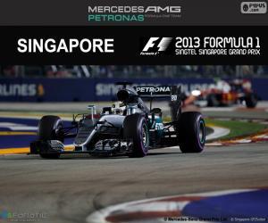 Układanka Lewis Hamilton, Grand Prix Singapuru 2016