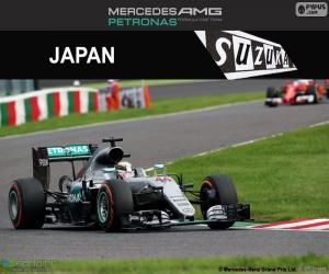 Układanka Lewis Hamilton, Grand Prix Japonii 2016