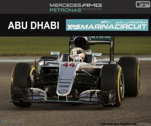 Układanka Lewis Hamilton, Grand Prix Abu Zabi 2016