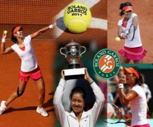 Układanka Li Na Roland Garros 2011 Champion