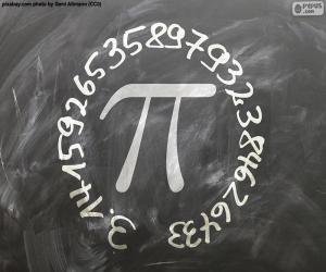 Układanka Liczba π (pi)