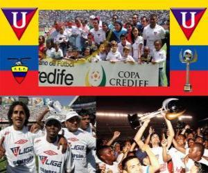 Układanka Liga Deportiva Universitaria de Quito Champion 2010 (Ekwador)