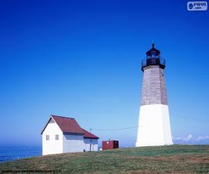 Układanka Lighthouse Point Judith, Stany Zjednoczone
