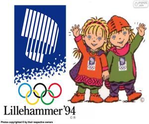 Układanka Lillehammer Zimowych Igrzyskach Olimpijskich 1994