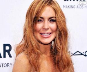 Układanka Lindsay Lohan