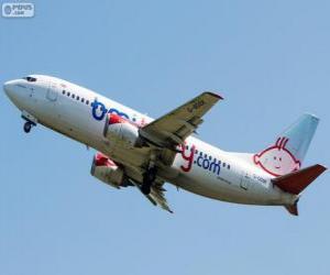 Układanka Linie lotnicze bmibaby był brytyjski niski kosztować linia lotnicza (2002-2012)