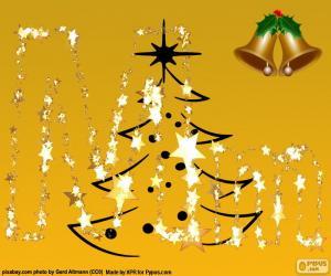 Układanka List Boże Narodzenie M