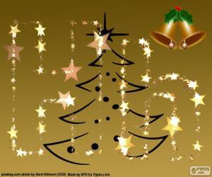 Układanka Litera H, Boże Narodzenie