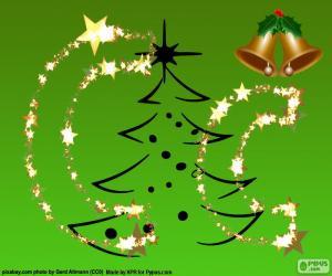 Układanka Litery C Narodzenie