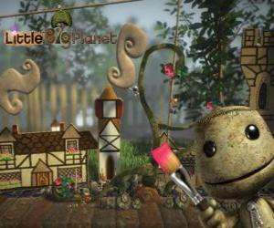 Układanka LittleBigPlanet, gra wideo, w którym postacie są lalki o nazwie Sackboys lub Sackgirls