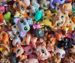 Układanka Littlest PetShop zwierzęta