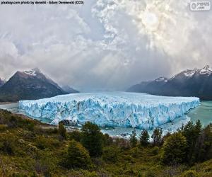 Układanka Lodowiec Perito Moreno, Argentyna
