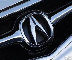 Układanka logo Acura, japońska marka samochodów