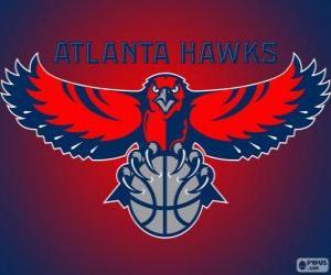 Układanka Logo Atlanta Hawks, zespół NBA. Dywizja Południowo-wschodnia, Konferencja wschodnia