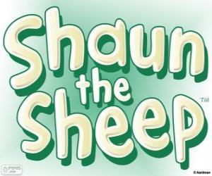 Układanka Logo Baranek Shaun