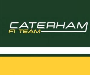 Układanka Logo Caterham F1 Team
