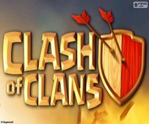 Układanka Logo Clash of Clans