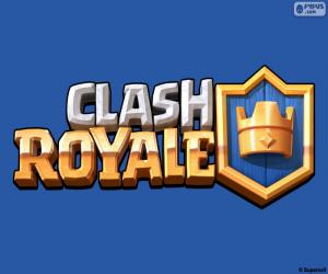 Układanka Logo Clash Royale