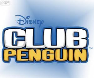 Układanka Logo Club Penguin