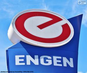 Układanka Logo Engen Petroleum