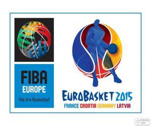 Układanka Logo EuroBasket 2015