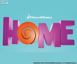 Układanka Logo filmu Home